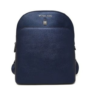 Michael Kors Blue Adele Backpack